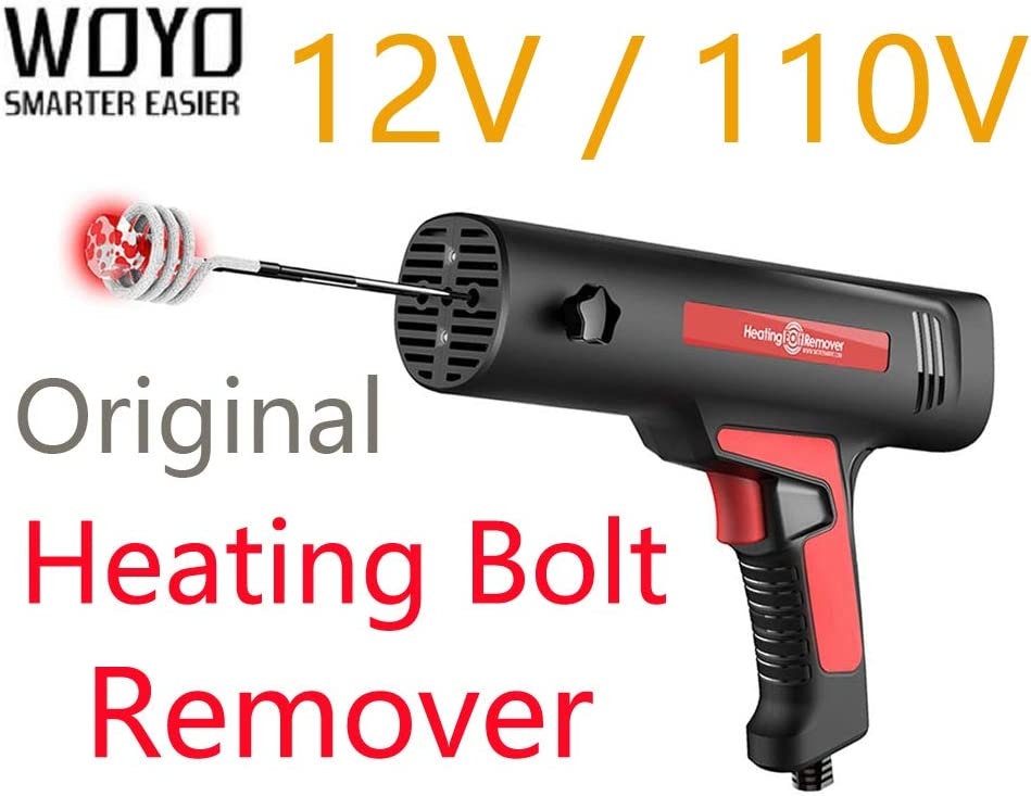 [ Original Authorized ] WOYO HBR 110V Induction Heating Bolt Remover Car Body Repair With 4 Coil Kit 12V 110V Mini Induction Heater Tool Woyo HBR110 (110V)