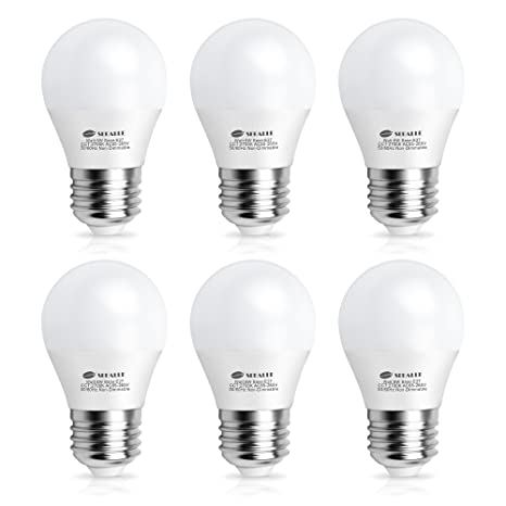 E27 LED Light Bulb Seealle 6W G45 Golf Ball 60W Incandescent