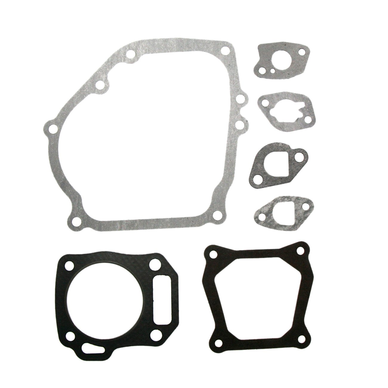JRL New Cylinder Head Full Gasket Kit for Honda GX160 GX200 5.5hp 6.5hp