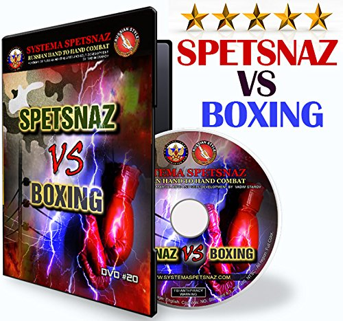 Russian Martial Arts DVD - Systema Spetsnaz VS Boxing. How to Fight and Beat a Boxer. Hand to Hand Combat. Self-Defense Training Video