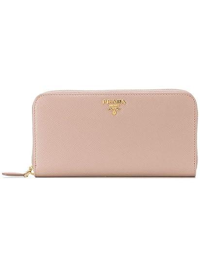 1e35a4472f687 Prada Damen 1Ml506qwaf0236 Rosa Leder Brieftaschen  Amazon.de ...