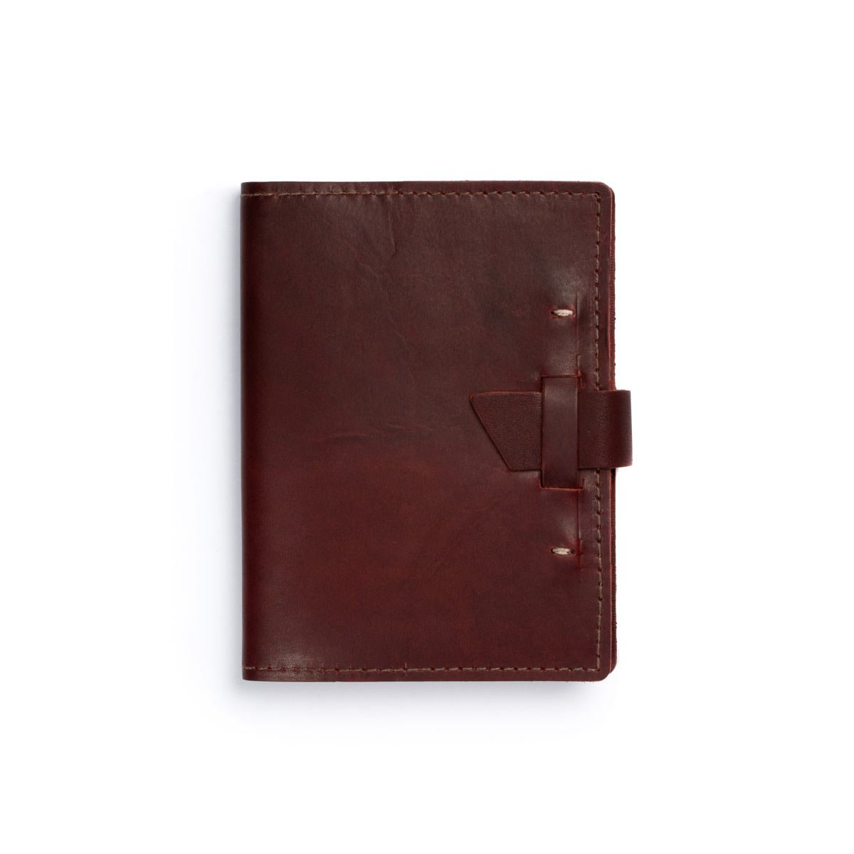 Rustico Wasatch Leather Journal Burgundy by Rustico