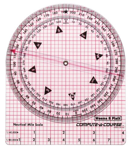 - Weems & Plath Marine Navigation Compute-A-Course Multi-Purpose Plotting Tool