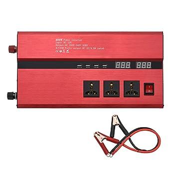 CAPTIANKN Inversor 4000W, C.C. 12V del indicador Digital al zócalo de la CA 220V/