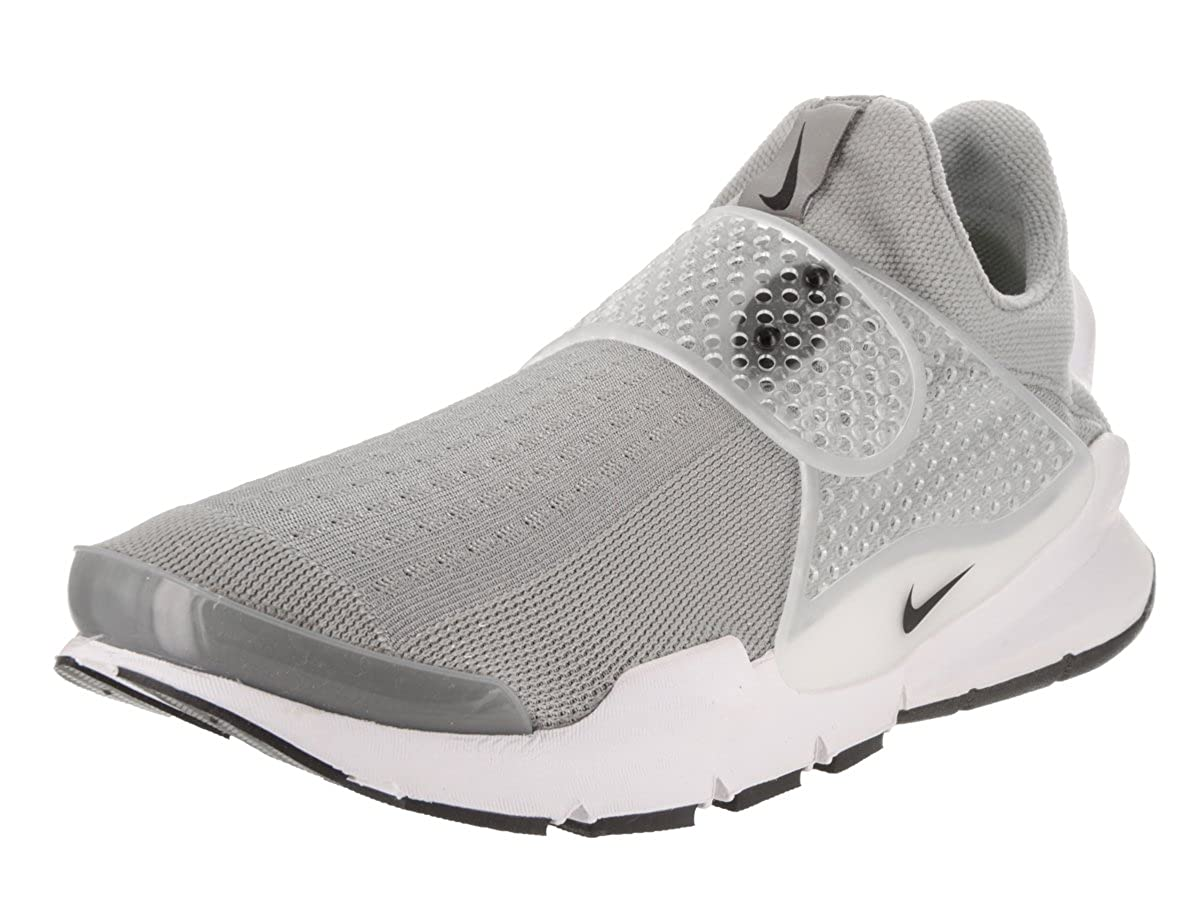 premium selection 28895 18799 Amazon.com   Nike Men s Sock Dart Grey Running Shoe 12   Shoes