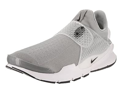 NIKE Mens Sock Dart Running Shoes Medium Grey/Black/White 819686-002 Size