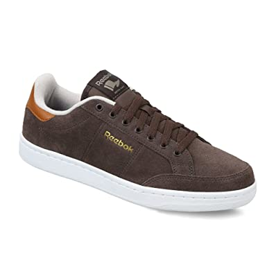 Reebok Classics Men's Royal Smash Sde Brown, Sand, Cliff, White and Gold  Leather