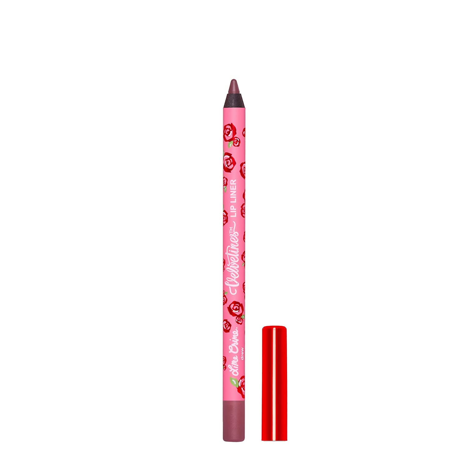 Lime Crime Velvetine Lip Liner (Angel). Long Lasting Apricot Nude Matte Lip Lining Pencil (0.042oz / 1.20 g)