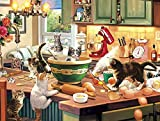 Cats Collection - Kitten Kitchen Capers - 750 Piece Jigsaw Puzzle