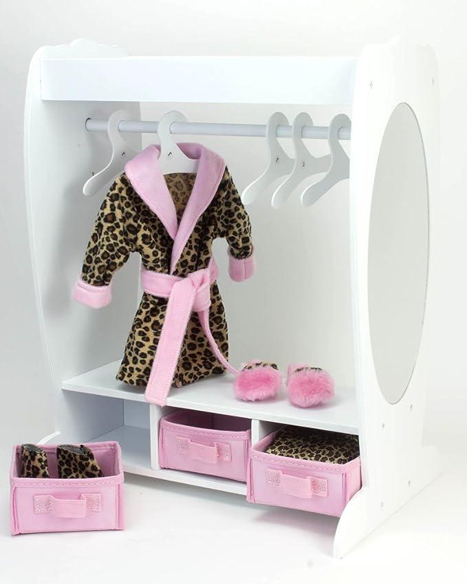 Amazon.com: 18 inch ropa de muñecas muebles Dress Up rack ...
