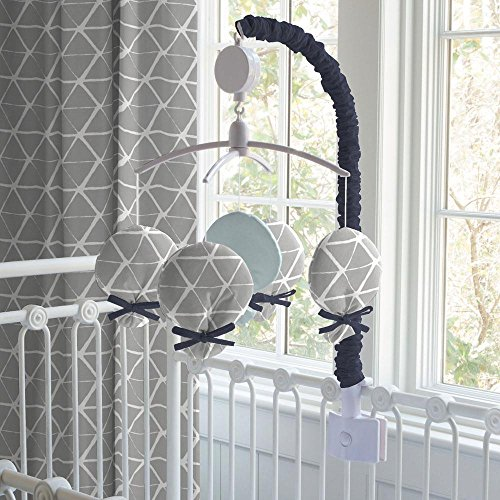 Carousel Designs Silver Gray Deer Head Mobile by Carousel Designs
