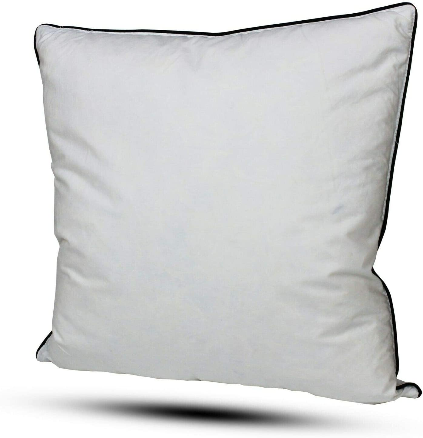 """10 x 20/"""" x 20/"""" Duck Feather Cushion Pads White feathers in 100/% Cotton Cover"""