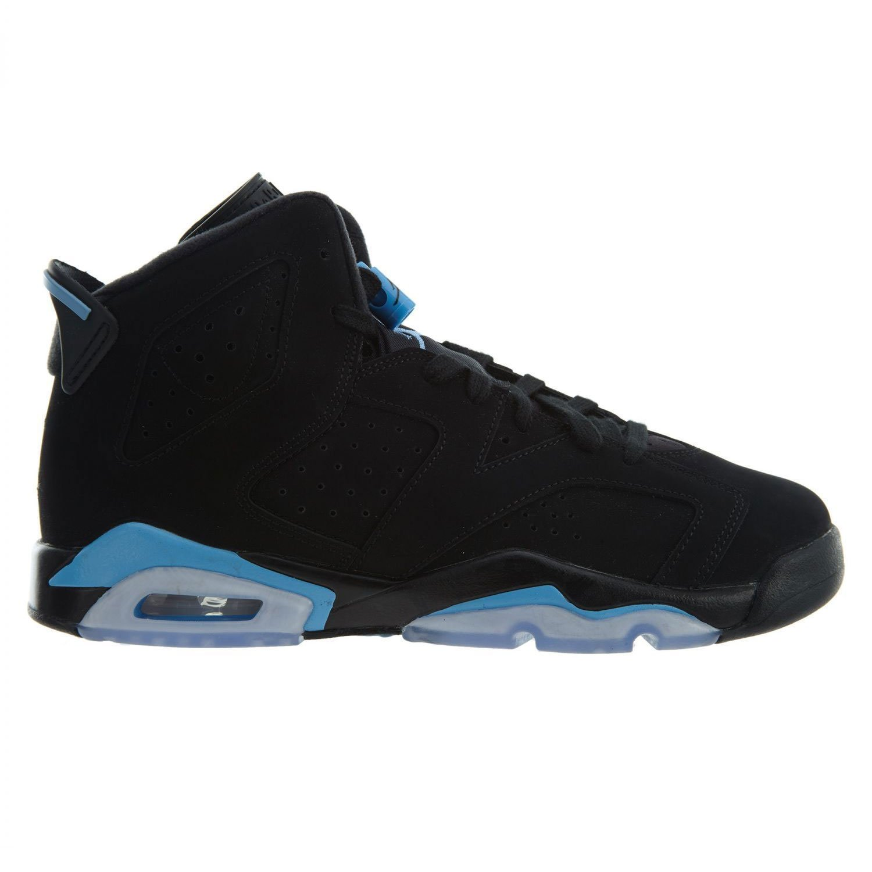 sale retailer 5398a 9c693 Grade School Jordan Retro 6 BG Black/University Blue Size 4 M US Big Kid