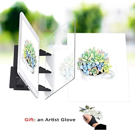 Stggo Optical Drawing Board Sketch Wizard Easy Tracing Drawing Sketching Tool Image Reflection Drawing Tool for Kids Beginners