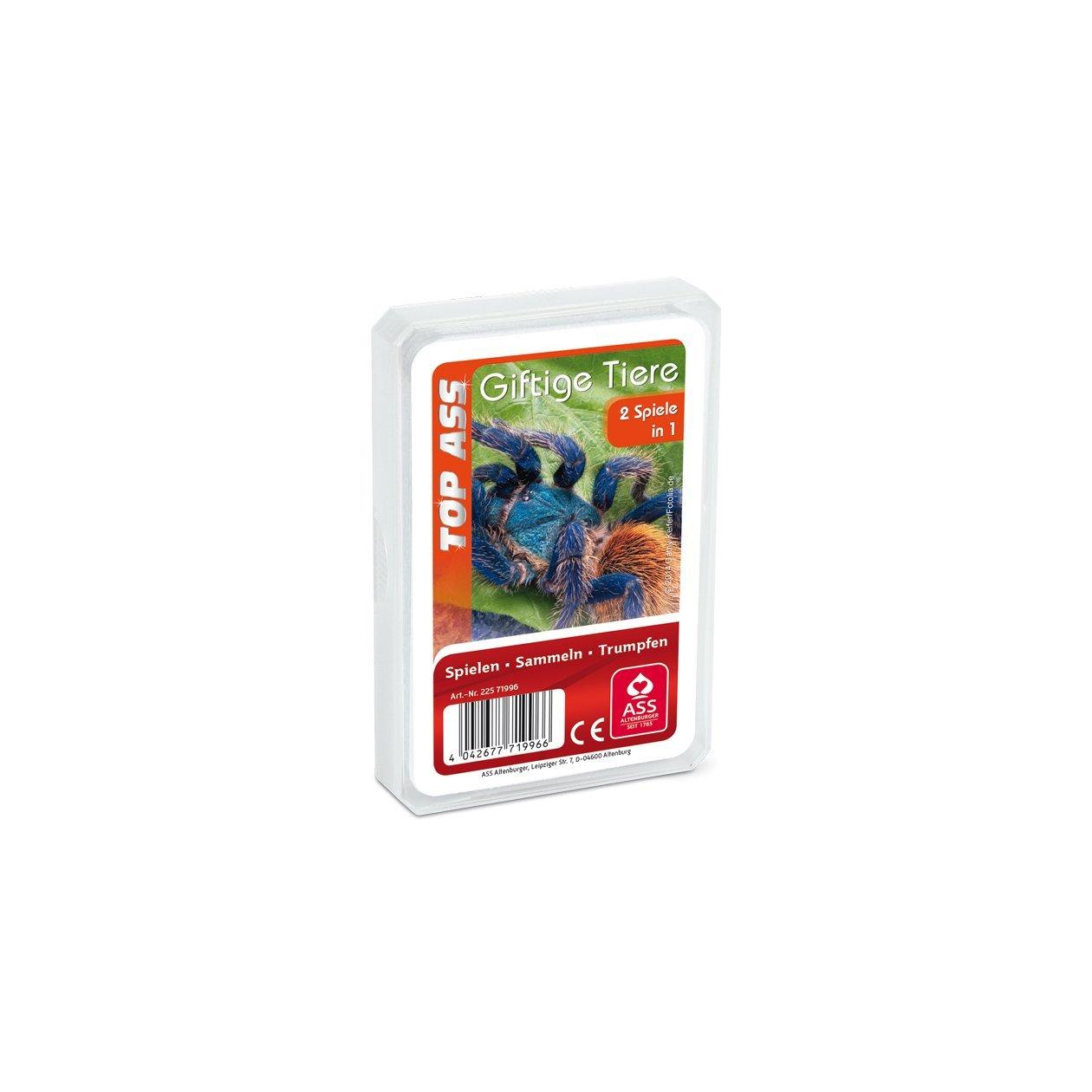 ASS Altenburger 22571996 - TOP ASS Giftige Tiere, Kartenspiel ...