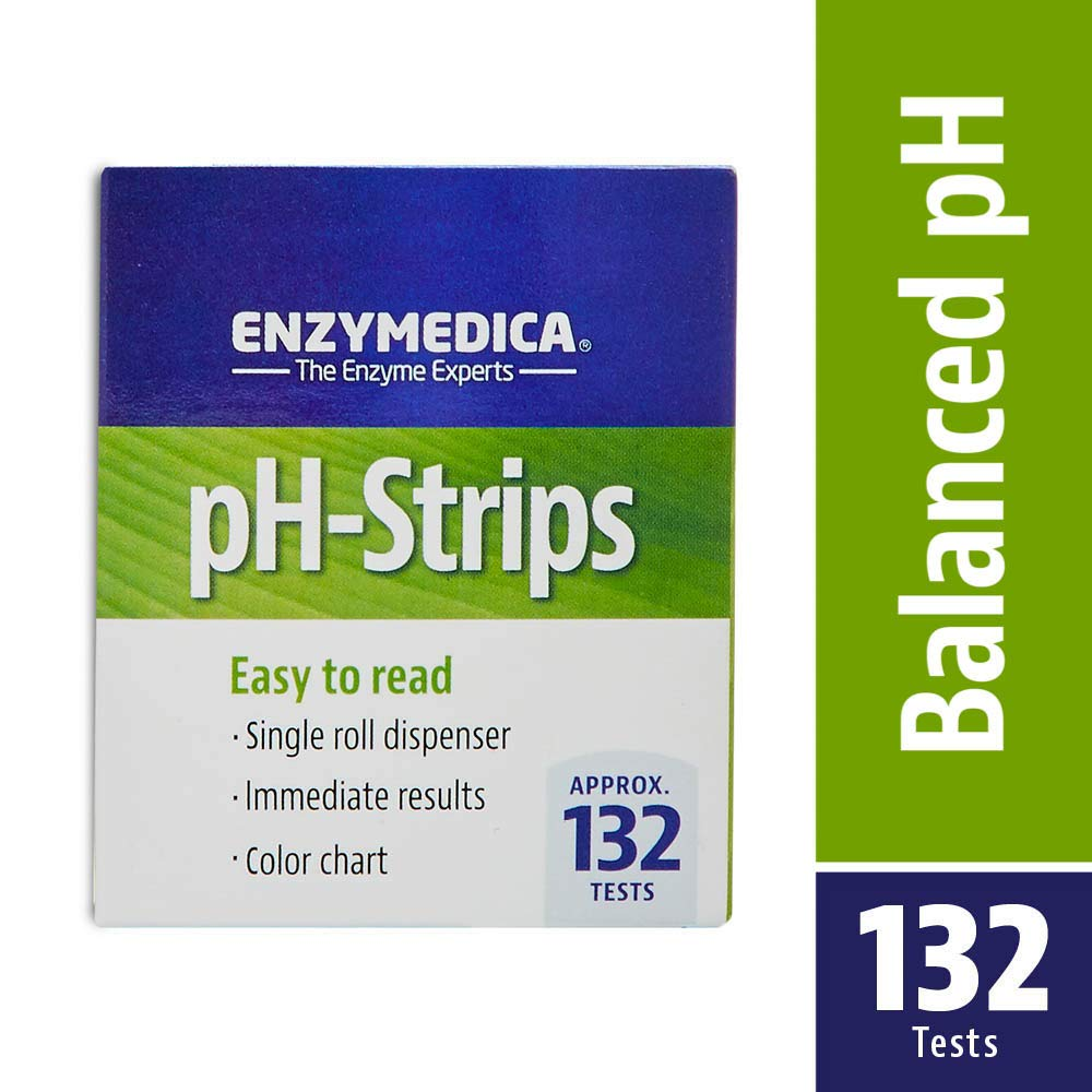 Enzymedica Easy to Read pH-Strips (Single Roll to be Cut, Approximately 132 Tests) 23112
