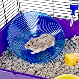Moonpet-Flying-Saucer-Exercise-Wheel-for-Small-Pets-Hamsters-Rat-Silent-Spinner-Non-Slip-Run-Disc
