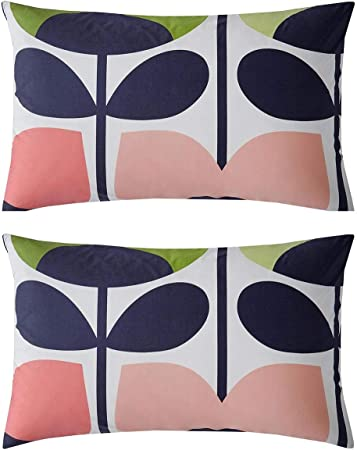 Orla Kiely Climbing Rose Pillow Cases