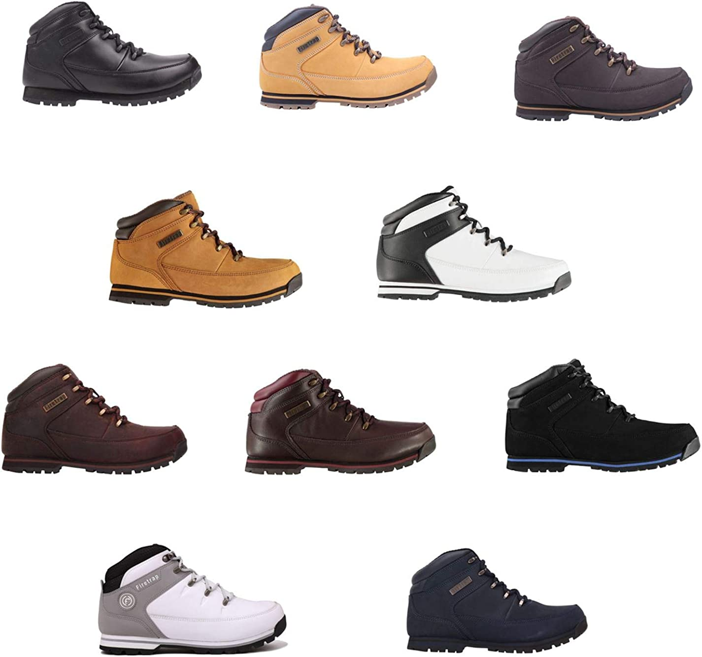 Firetrap Rhino Ankle Boots Mens Shoes