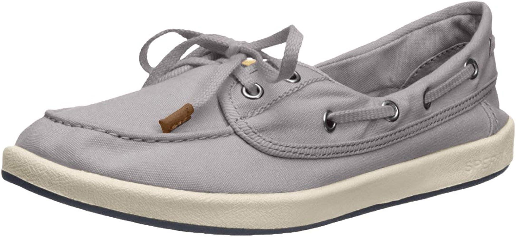 Sperry Women's Drift Hale Sneaker, Grey