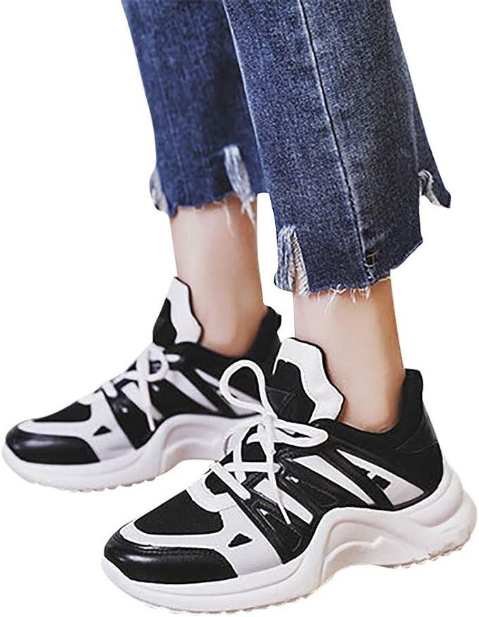 Berimaterry Zapatillas Deportivas De Mujer Running Zapatos Moda ...