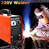 MMA / ARC Welder Inverter Welding Machine Equipment 220V 200A IGBT ZX7-200 DC - High Cost-Effective Dimensions 300 120 210 Cable Length 5meters