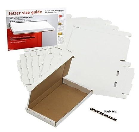 900 Royal Mail - Buzón grande de cartón para envíos por correo PIP C4 332x245x22