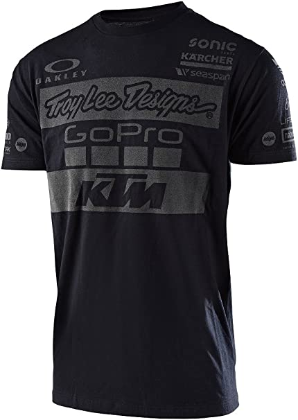 Camiseta Troy Lee Designs Ktm Team Negro (Xxl , Negro): Amazon.es ...
