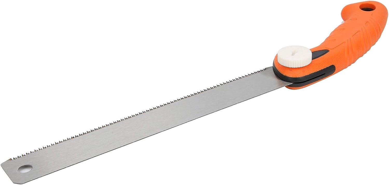 Scie /à main 17T 2,3 mm Scie /à main /à dents fines pour travail manuel avec poign/ée antid/érapante