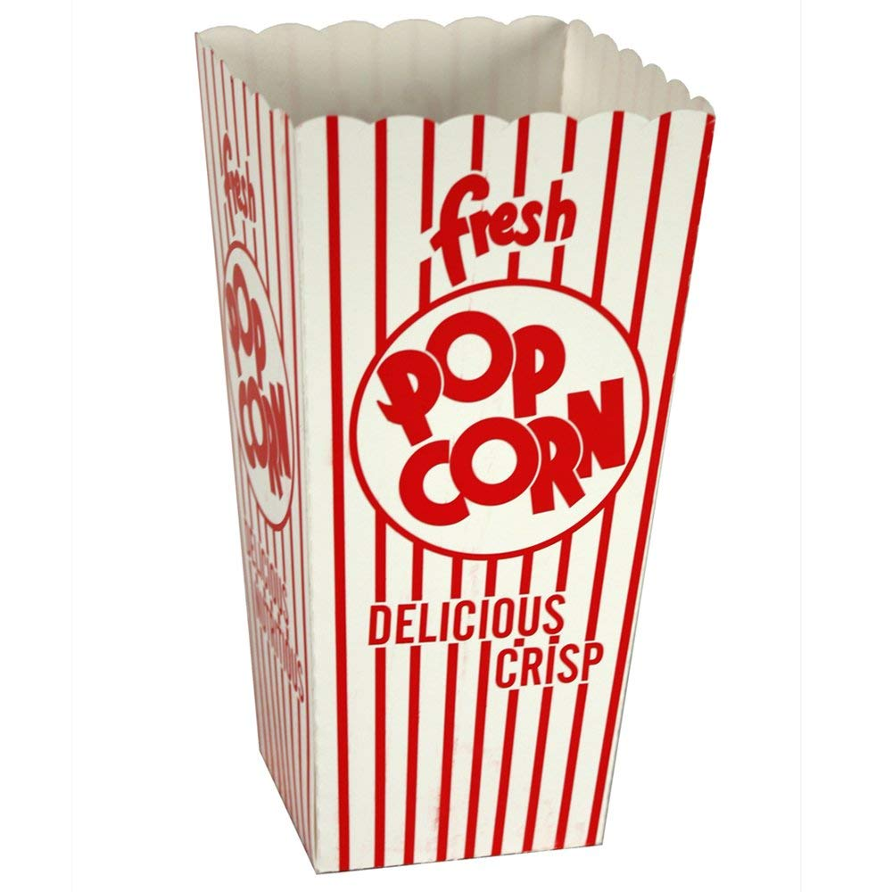 Paragon Popcorn Scoop Boxes 0.79-ounce (Case of 100)