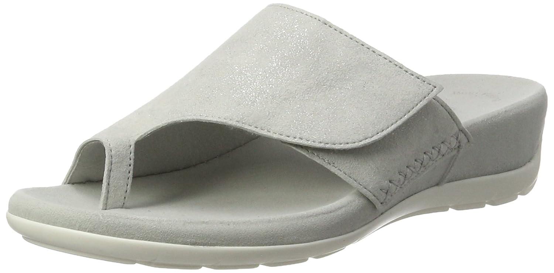 Gabor Shoes Fashion, Mules para Mujer 43 EU|Blanco (Ice 60)