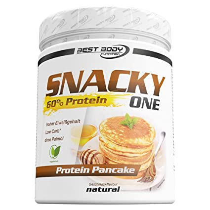 Best Body Nutrition Snacky One Protein Pancakes Natural - 300 gr