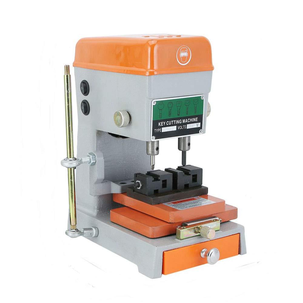 LeftCafe Automatic Key Duplicating Machine, Universal Key Cutting Machine Cutter for Car Keys and House Keys