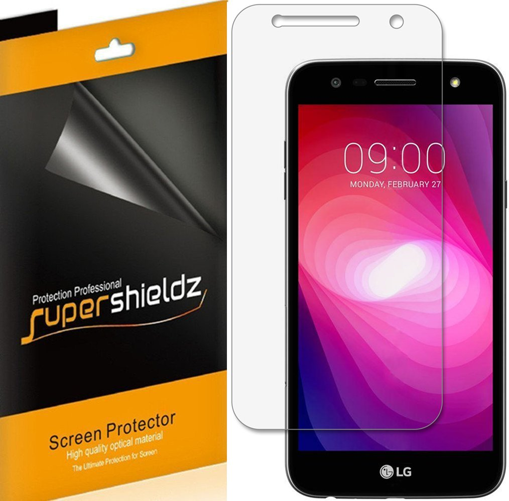 Supershieldz (6 Pack) for LG (X Charge) Screen Protector, High Definition Clear Shield (PET)