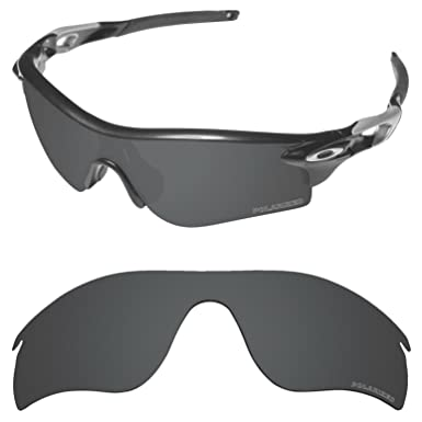 1eb6849685 Tintart Performance Lenses Compatible with Oakley RadarLock Path Polarized  Etched-Carbon Black
