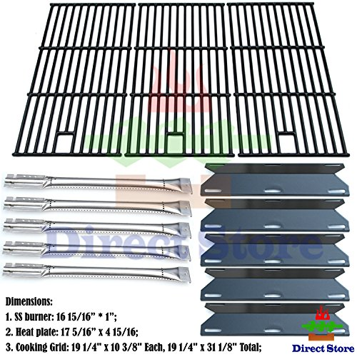 Direct store Parts Kit DG180 Replacement Perfect Flame 5 Burner 720-0522; Charmglow 5 Burner 720-0396,720-0578 Gas Grill Repair Kit