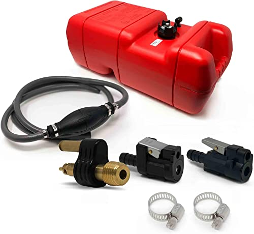 Marine 6 Gallon Fuel Tank/Portable Kit for Yamaha, Mercury Engines [Five Oceans] Picture