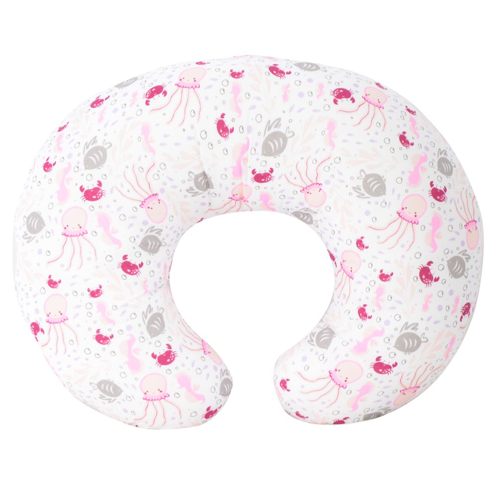Kidiway 3113 Kidilove Nursing pillow self cover Sea Creature Pink (New)