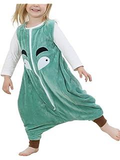 3ef4f586f Niños - Franela sin Mangas - Saco de Dormir - chándal Pijamas Manta  portátil - Wearable