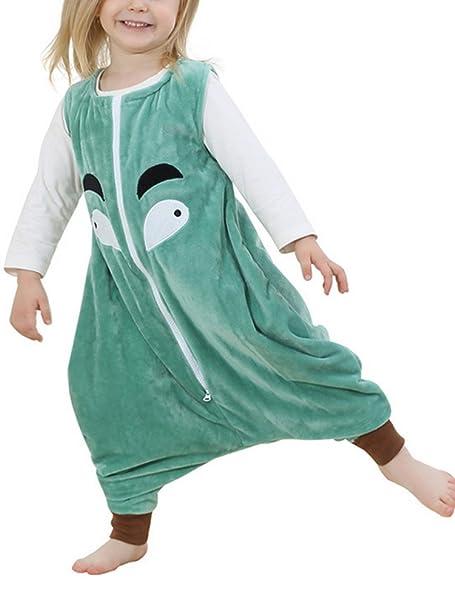 Niños - Franela sin Mangas - Saco de Dormir - chándal Pijamas Manta portátil - Wearable: Amazon.es: Ropa y accesorios