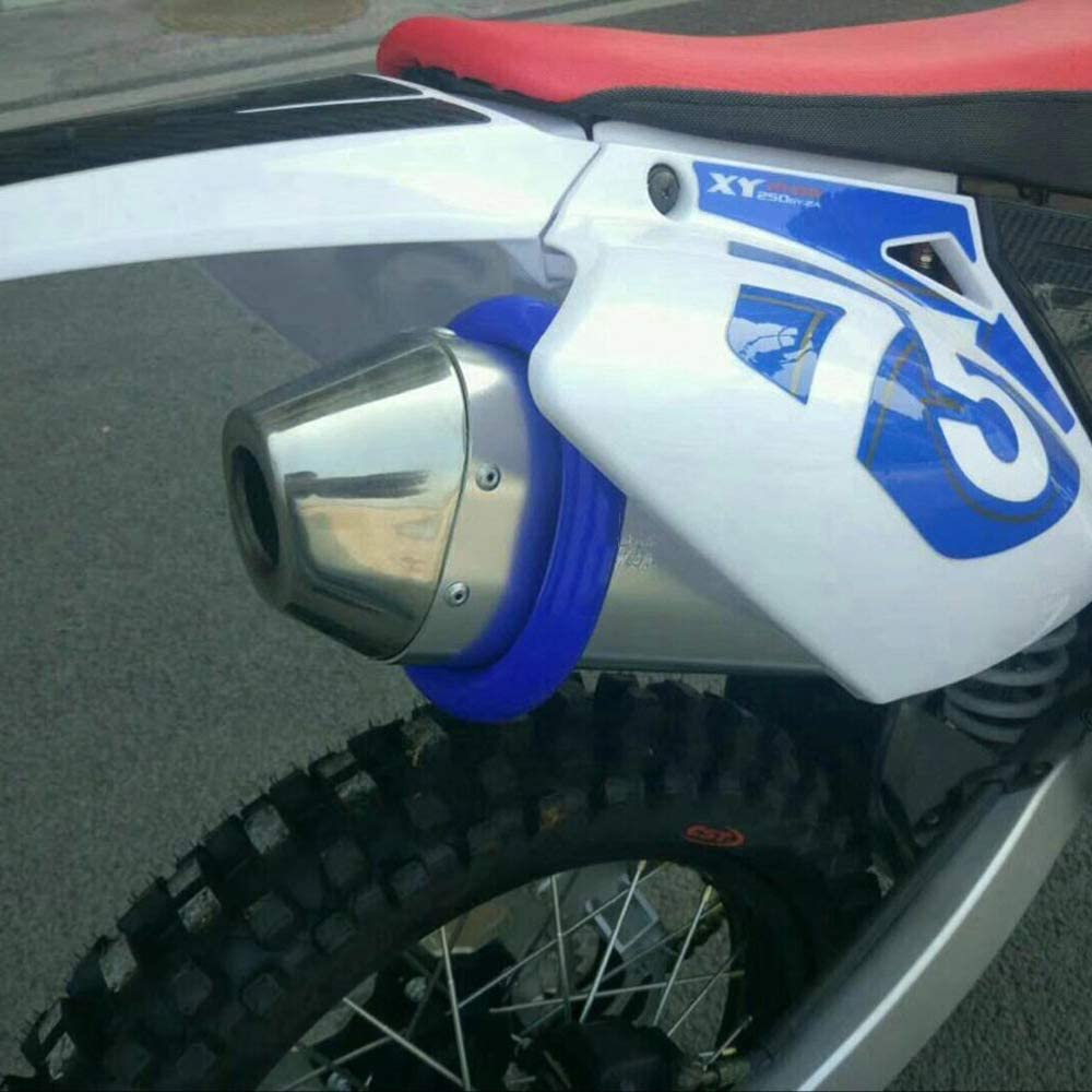 Fastpro Protector de Escape Universal para Motocicleta m/ás de 250 CC