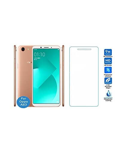 Shield For Oppo A83 Tempered Glass Screen Protector: Amazon in