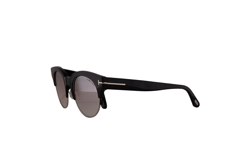 62e9c0d891689 Amazon.com  Tom Ford FT0598 Henri-02 Sunglasses Shiny Black w Violet Mirror  Lens 01Z TF598 FT598  Sports   Outdoors