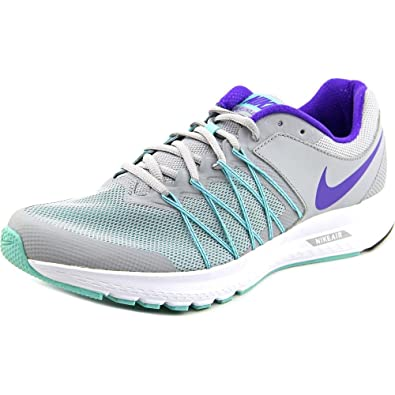 Nike Womens Air Relentless 6 Wolf Grey/Fierce Purple-Hyper Turq-White  Running