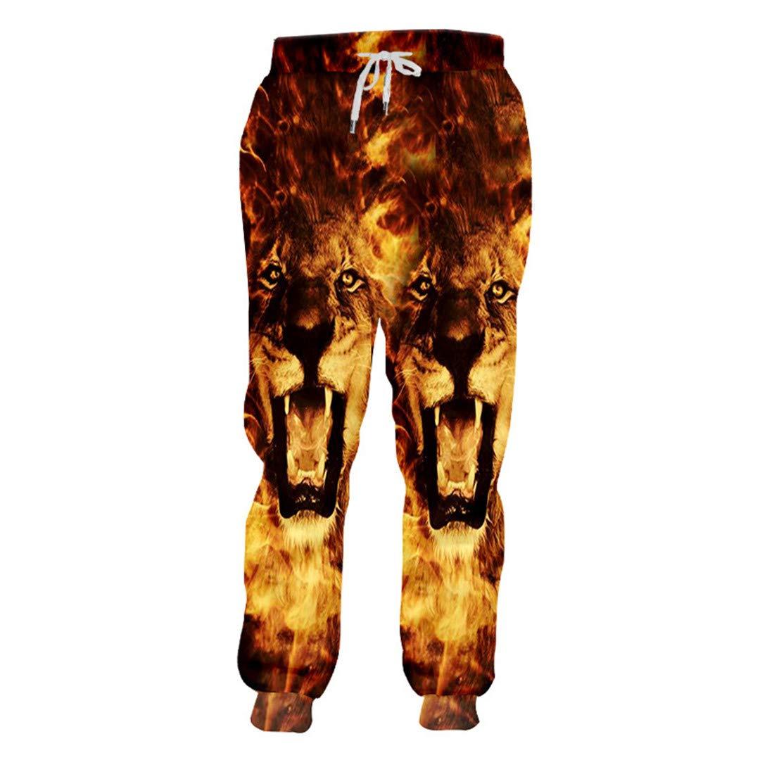 Sieclijkef Pantalones de chándal Unisex Estilo Hiphop, Informales ...