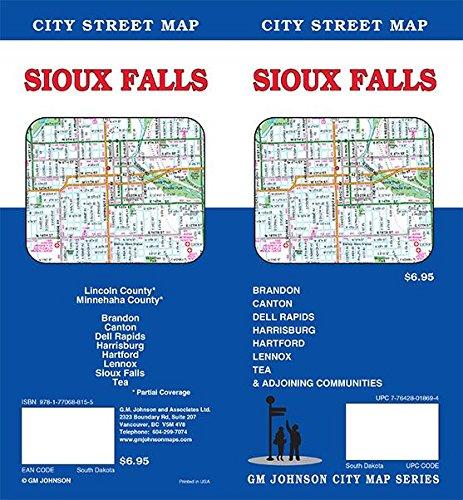 (Sioux Falls, South Dakota Street Map )