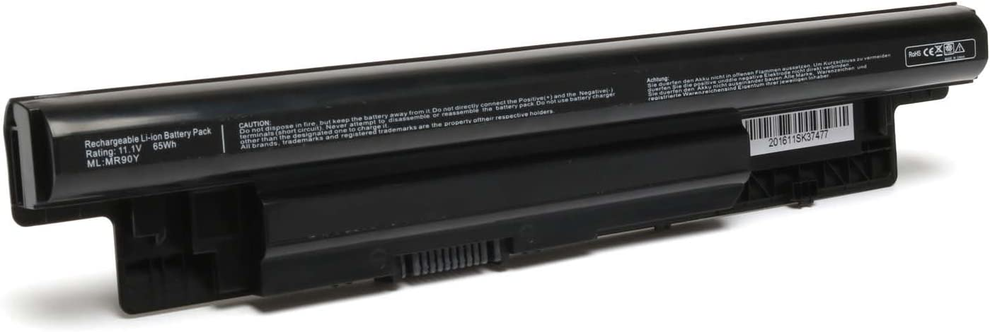 Dell inspiron m531r-5535 Battery, mr90y Battery 65wh 11.1v Dell, Dell inspiron m731r-5735 5748 5749 15r 5537 3440 5721 Battery