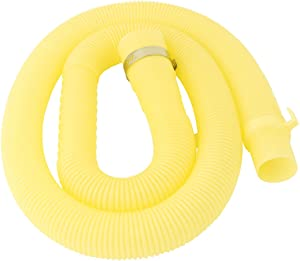 uxcell PVC Washing Machine Drain Hose Extension Kit, Universal Fit All Drain Hose Pipe 4.3 Ft
