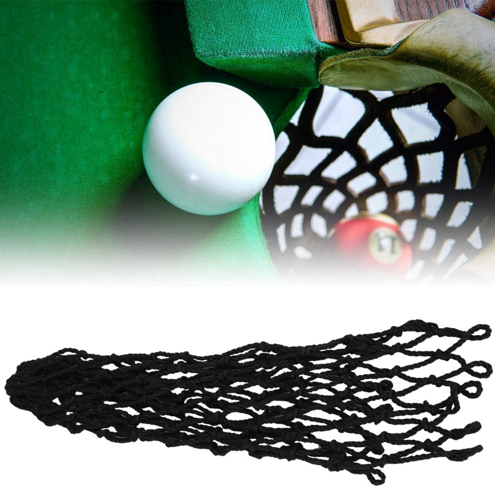 Premium Nylon Durable Billiards Table Net Tough and Tensile Ideal Accessories for Replacing Pool Table Pockets,Billiards Enthusiasts 6Pcs//Set Billiards Mesh Pockets Billiards Table Pocket