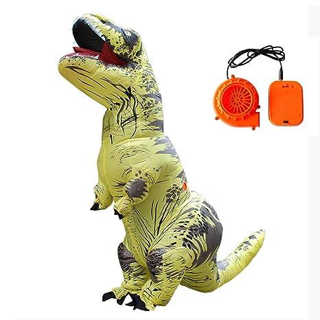 T-Rex Inflable Traje Dinosaurio Traje Halloween Navidad Tema ...